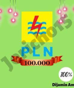 PLN 100 / TOKEN LISTRIK PLN 100 ( Nomor Meter silakan di CHAT )
