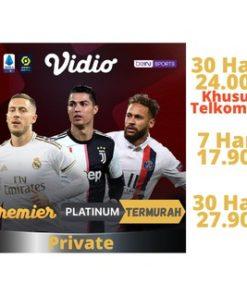 [Kode kirim via chat] Vidio-Premier-Platinum & Gold TERMURAH