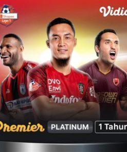 Vidio Premier Platinum 1 Tahun Unlock All Channel All Features