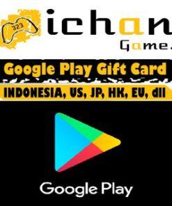 [JAMIN 10 MENIT] Google Play Gift Card US 5 10 15 20 25 30 50 / GPC US [REDEEM SENDIRI & RESMI]