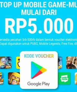 Voucher Google Play (GPC) 5k/10k IDR 100% Legal