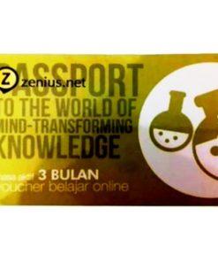 TERMURAH / Voucher Belajar Online Zenius net 3 Bulan