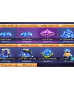 DIAMOND MOBILE LEGENDS/Unipin