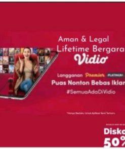 Vidio-Premie-Platinum | Legal | Bergaransi | Streaminghemat
