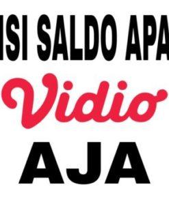 ISI SALDO/TOP UP SALDO vidio