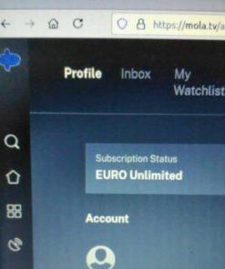 Mola TV Euro Unlimited 2021
