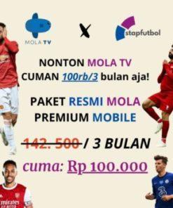 PAKET PROMO 3 BULAN MOLA TV